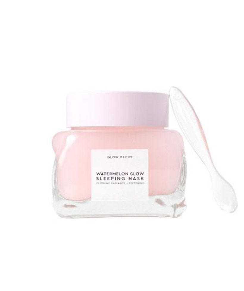 "The Watermelon Glow Sleeping Mask If you really can't carve out me time during the day (hey, life gets busy!), take advantage of some multitasking with this ""sleeping mask"" that works to up your glow factor overnight. Simply apply like a face cream and hit the hay; you'll feel like Sleeping Beauty when you wake up."