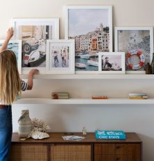 DIY Travel Gallery Wall