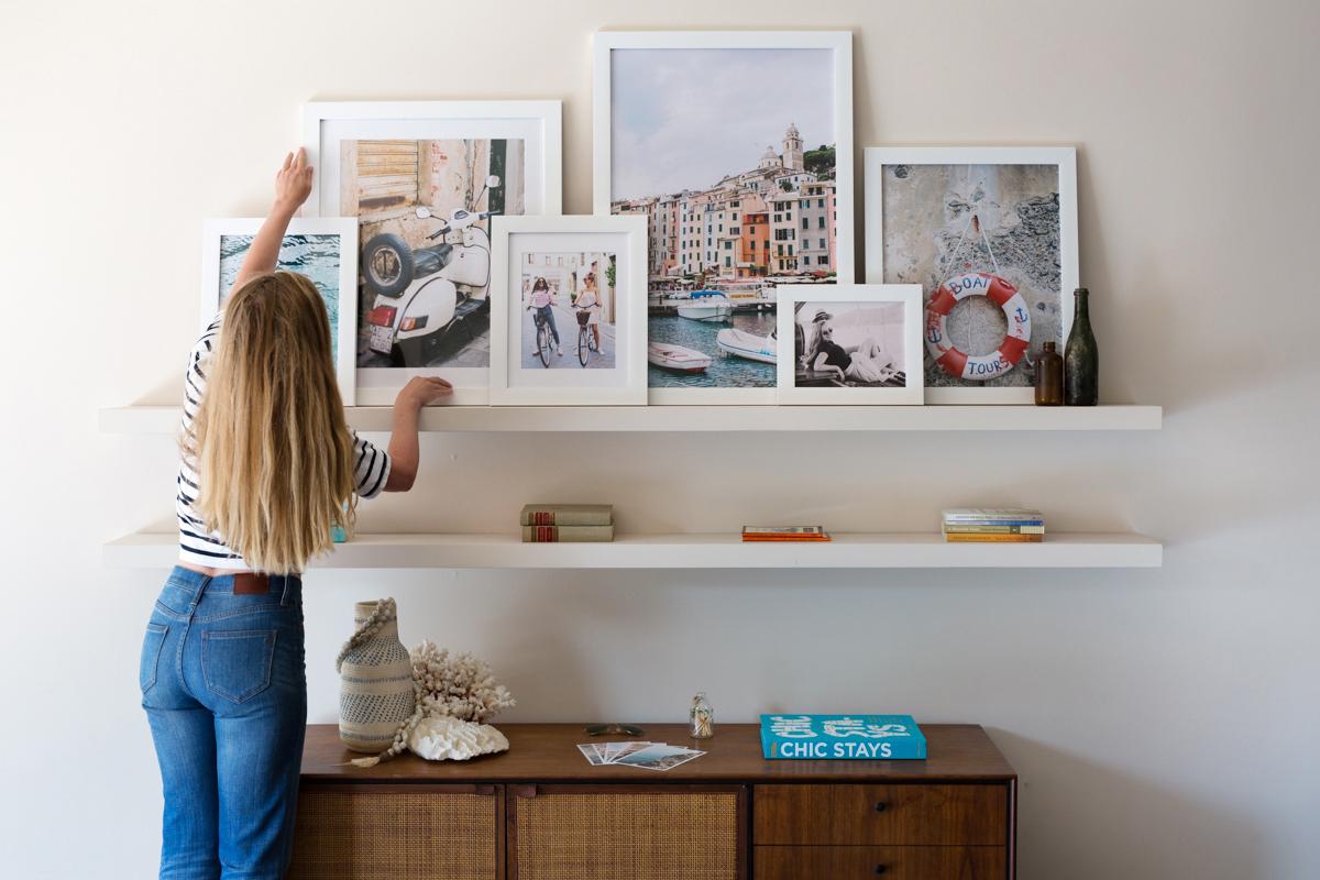 DIY Travel Gallery Wall