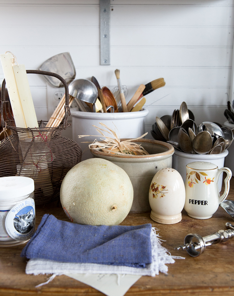 collected country kitchen
