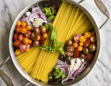 Doesn't get easier (or tastier) than this one pot recipe.