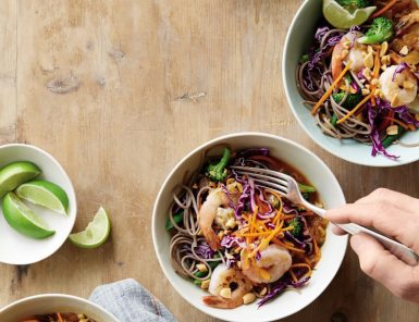 shrimp coconut curry bowls
