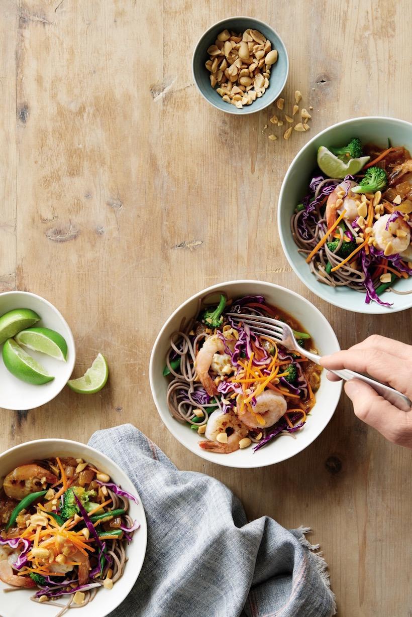 shrimp coconut curry bowls