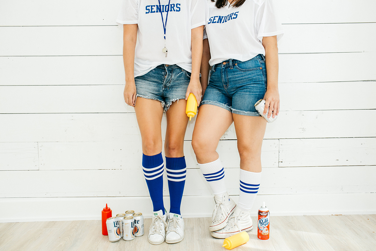 DIY Dazed and Confused Seniors Girls Costume