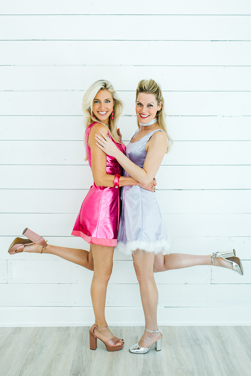 DIY Romy and Michele Costumes