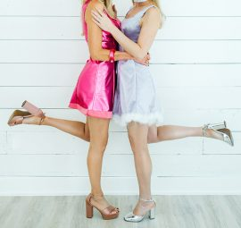 DIY Romy and Michele Halloween Costumes