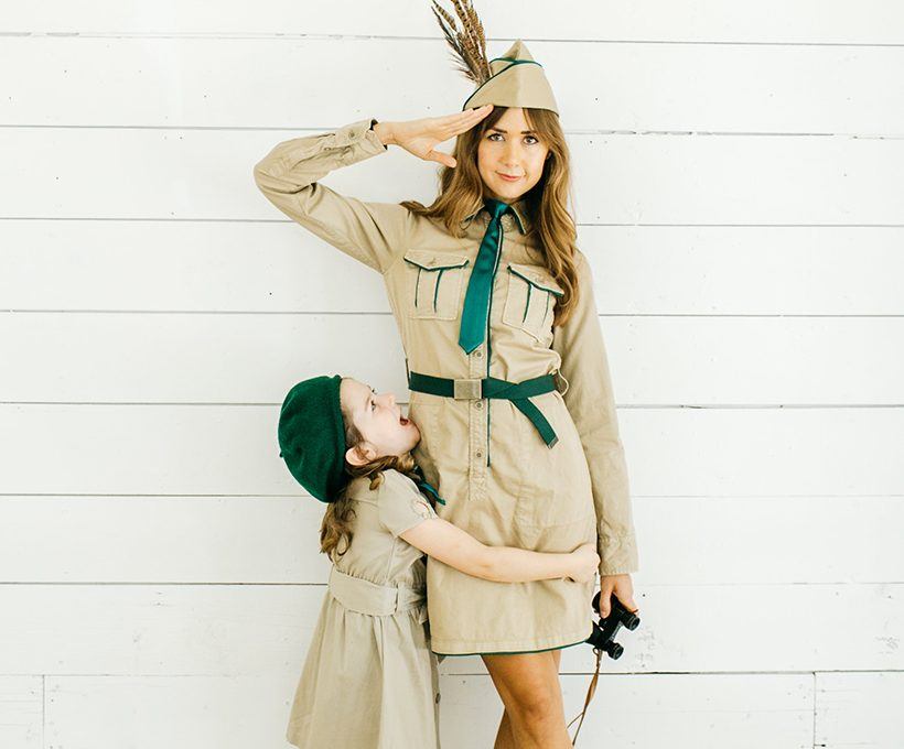 DIY Troop Beverly Hills Mom and Me Costume