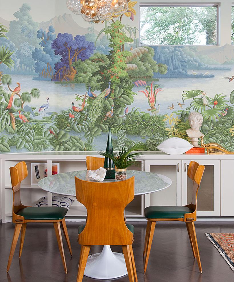 Mid Century Wallpaper 820x988