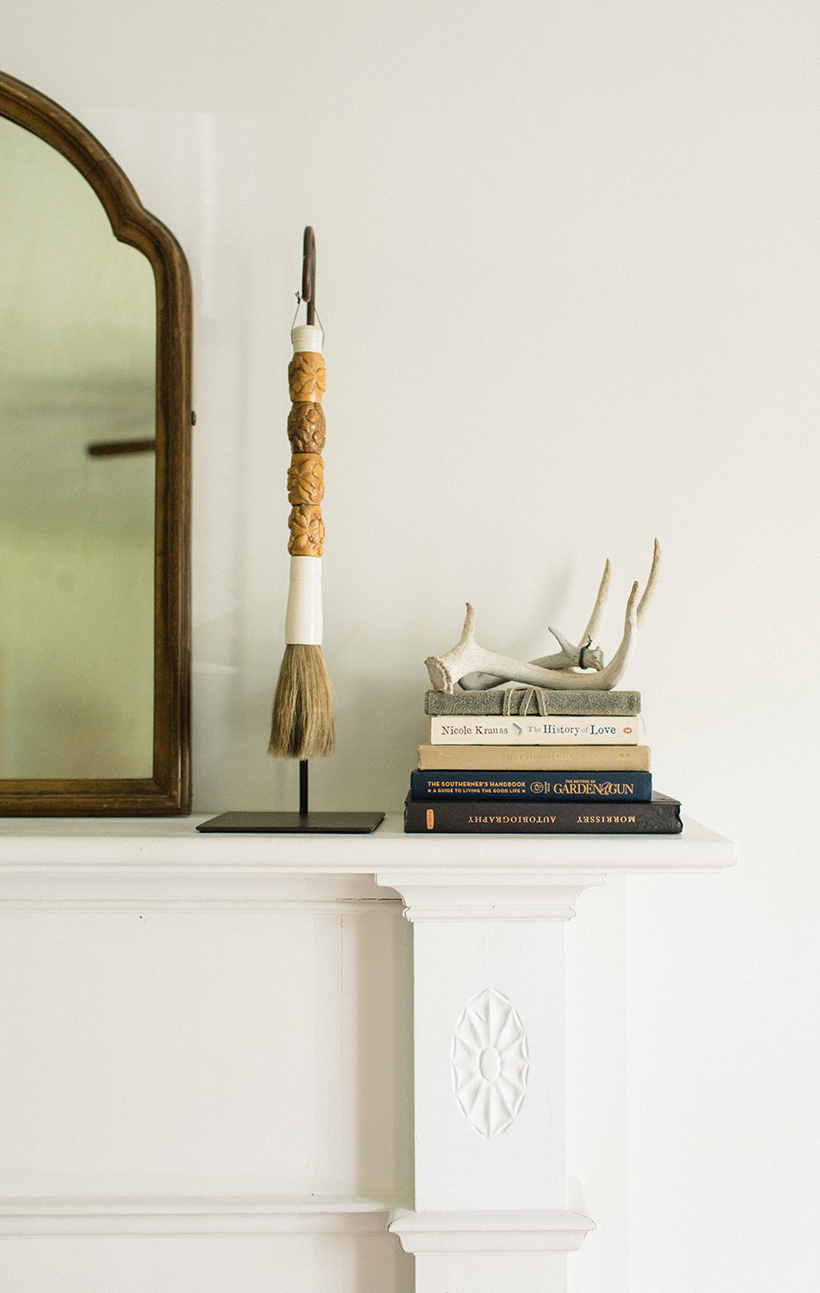 styled mantle