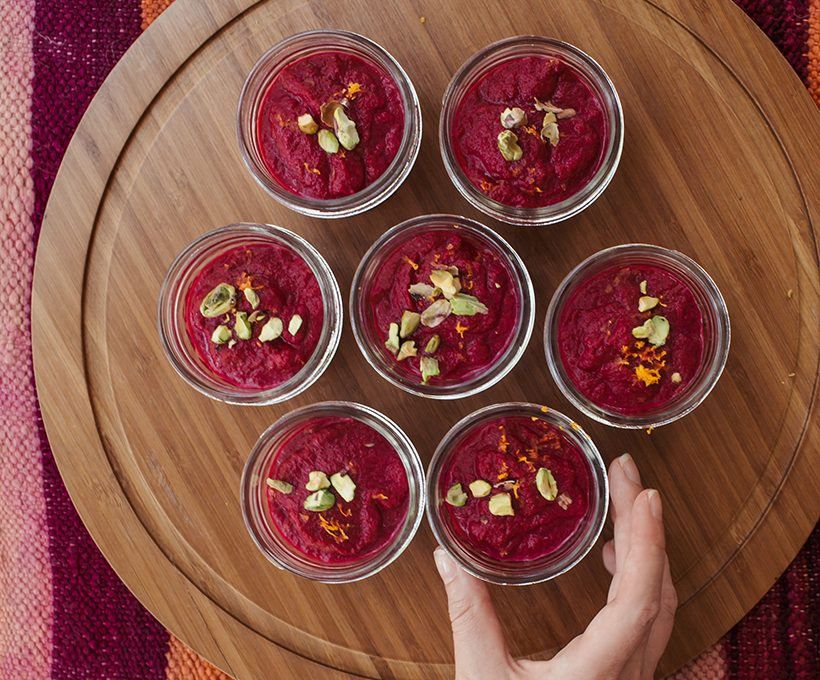 bright beet soup