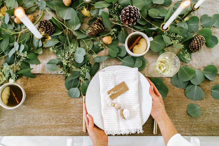 Easy Holiday Decorations That Use Grocery Store Ingredients