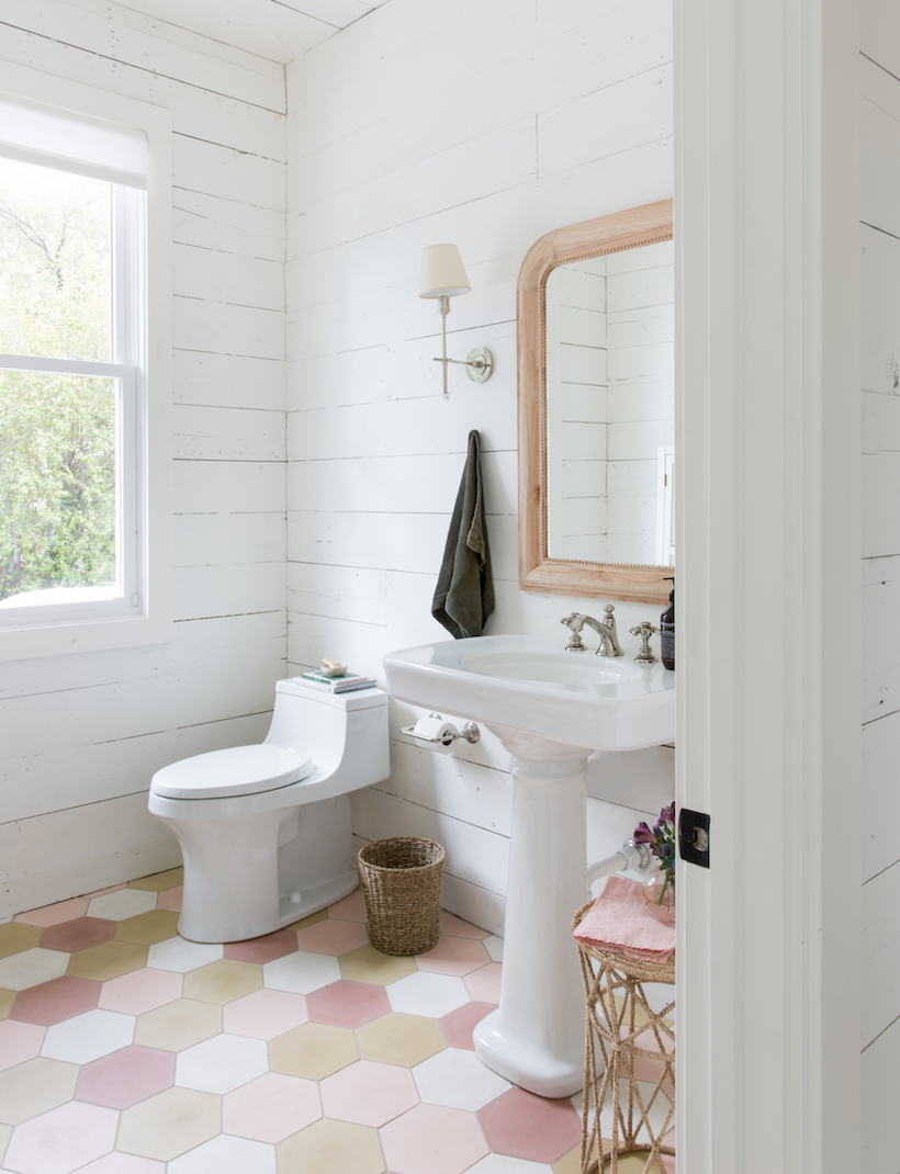 Our Unbelievable Studio Bathroom Renovation - Camille Styles