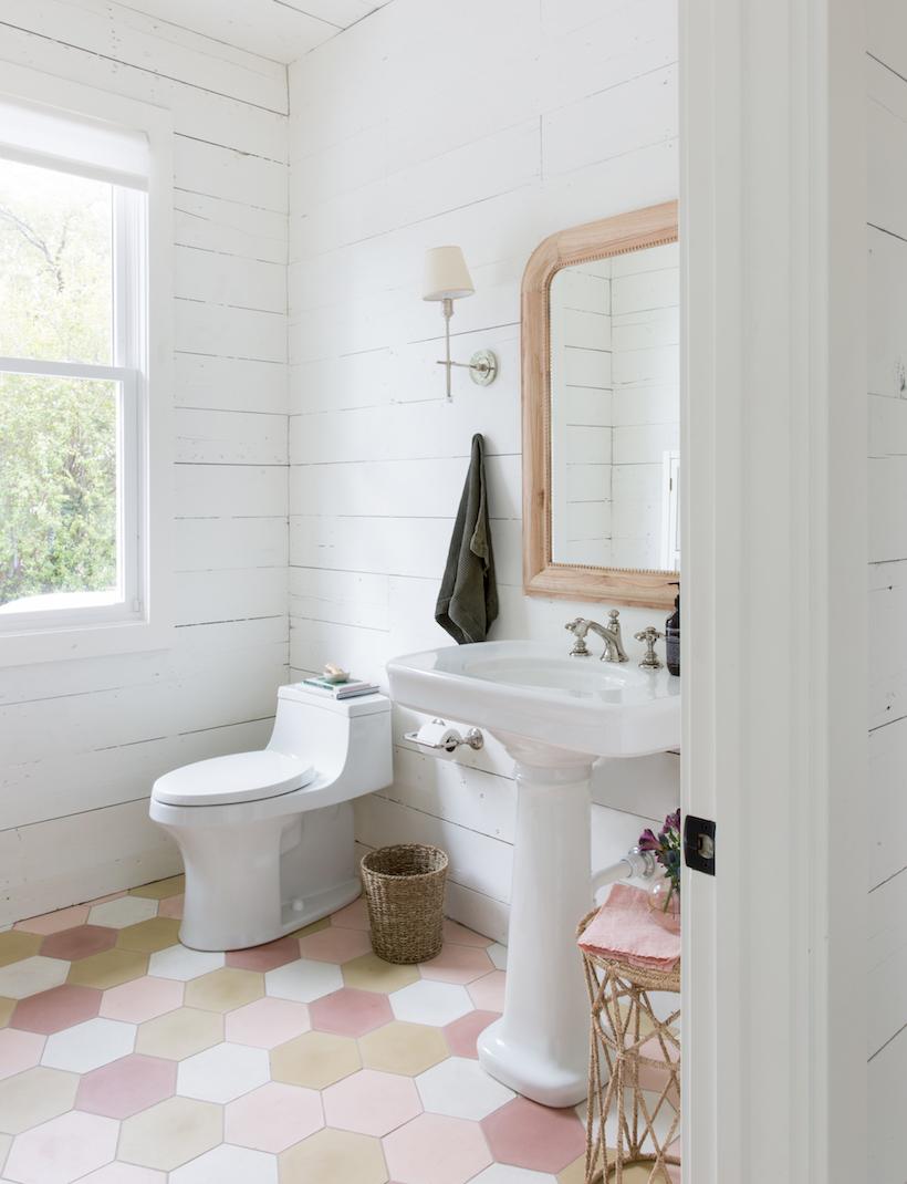 Our Unbelievable Studio Bathroom Renovation - Camille Styles