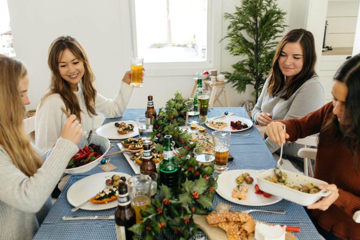 a nordic holiday feast
