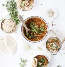 A fall inspired Pumpkin Chickpea Curry | This Brown Kitchen