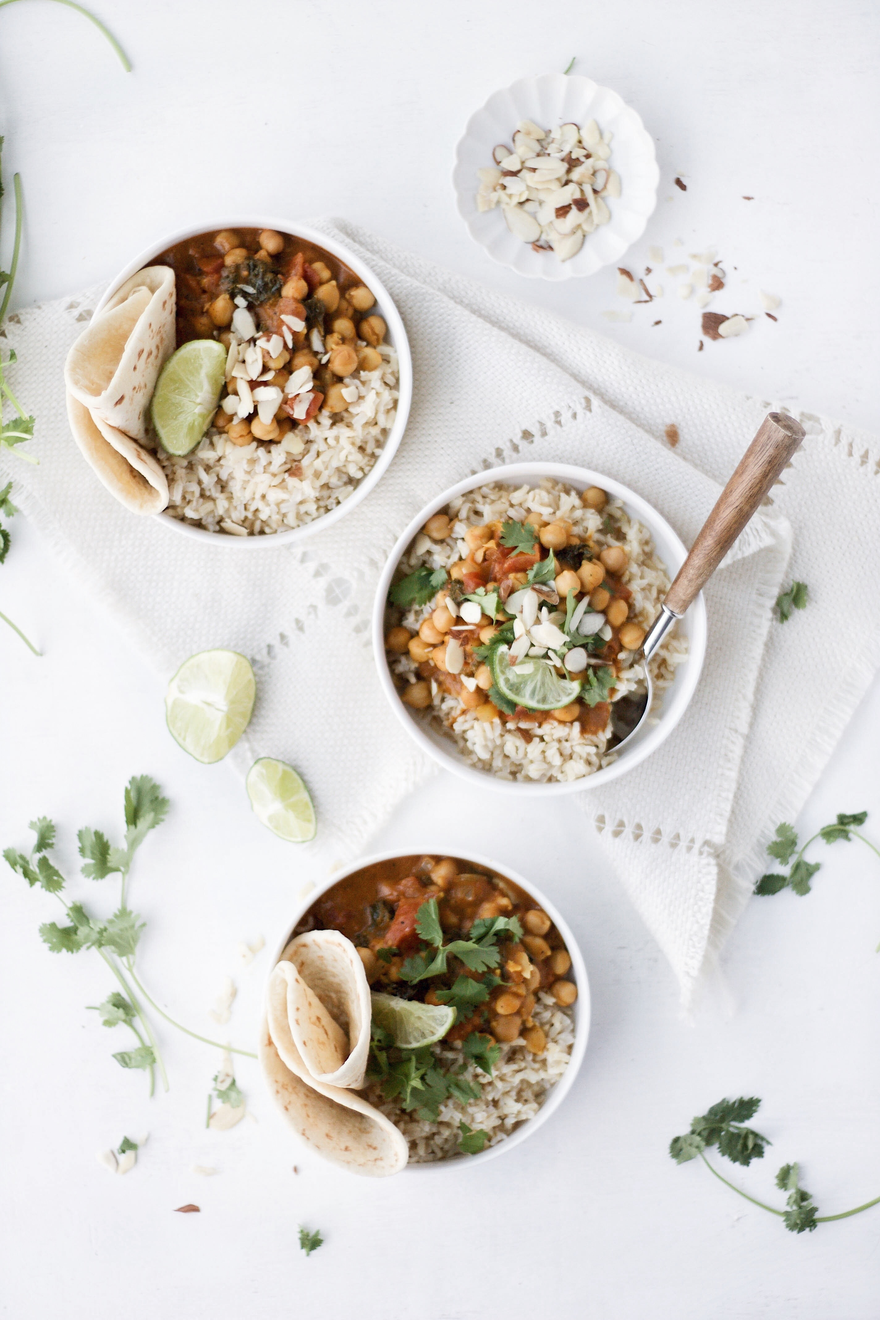 Pumpkin Chickpea Curry - Camille Styles