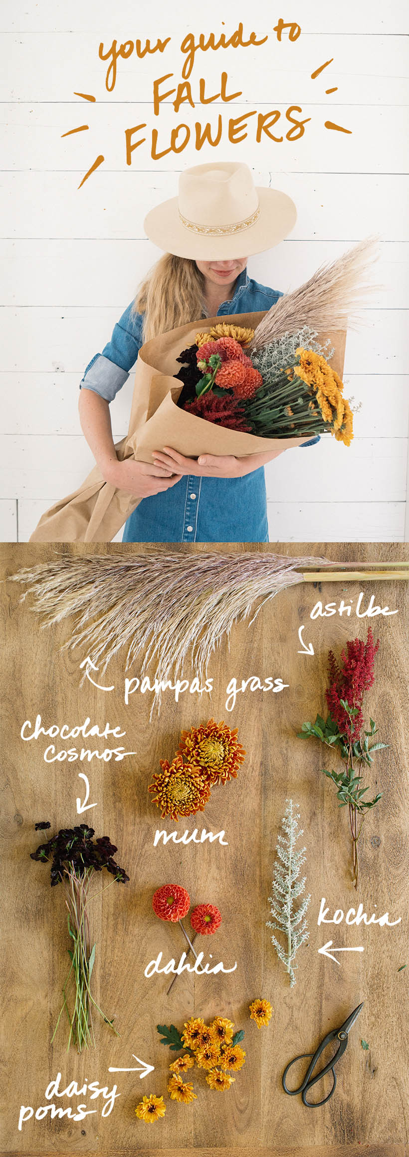 Perfect for fall wedding flowers