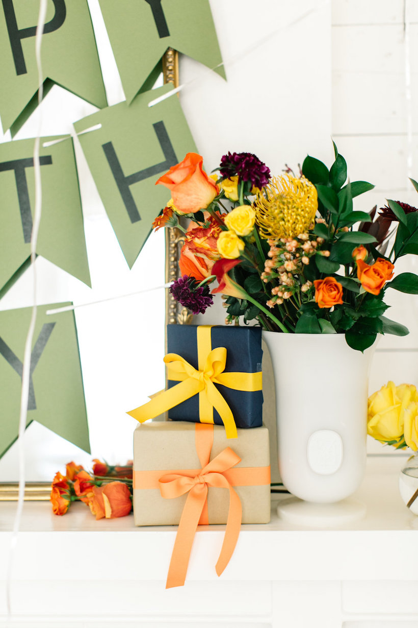 flower bomb birthday party!