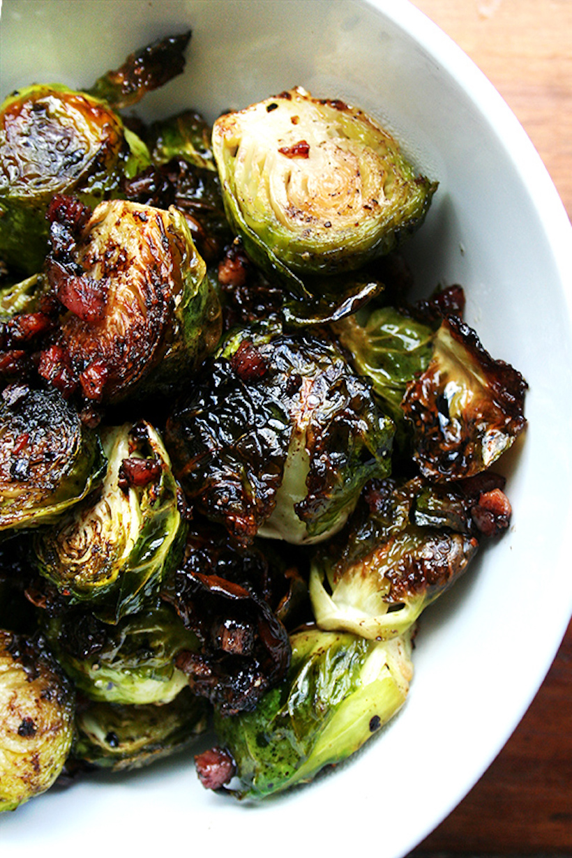 Ina Garten's Balsamic Brussels' Sprouts