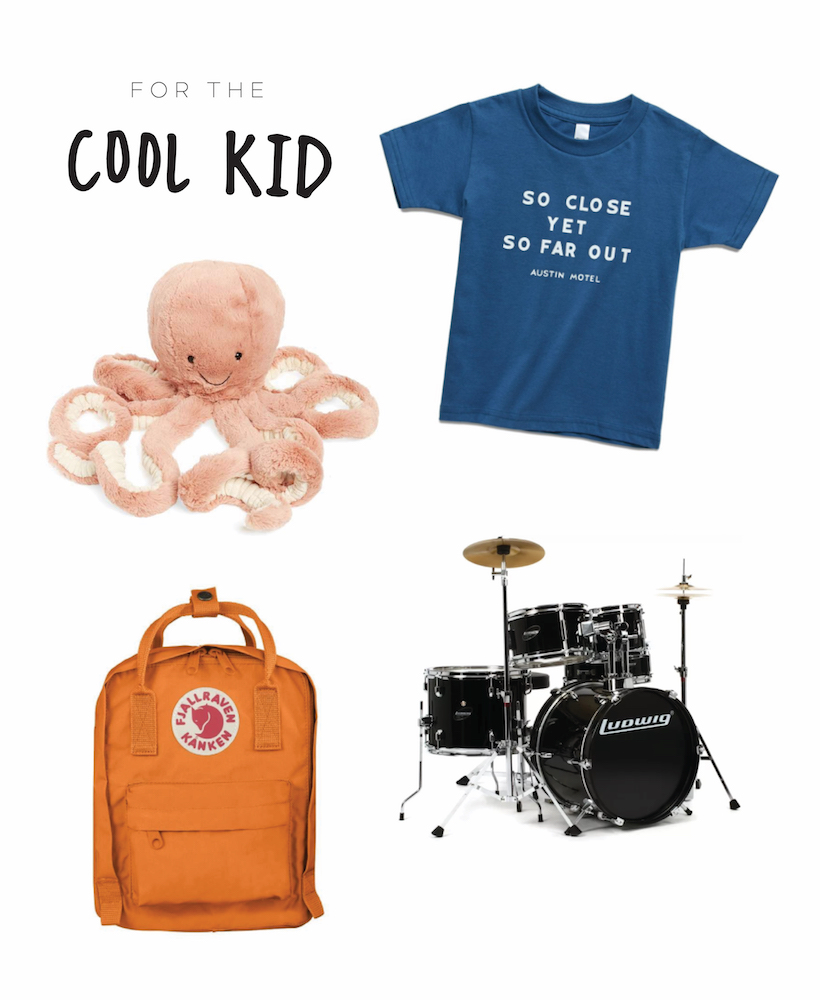 gift guide for a cool kiddo