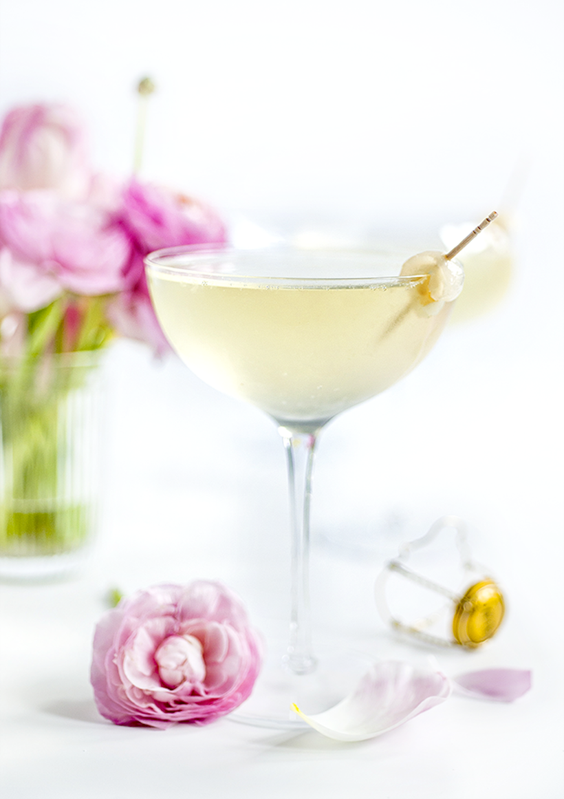 lychee french 75