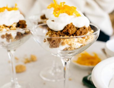these carrot cake trifles are my favorite twist on our favorite family recipe