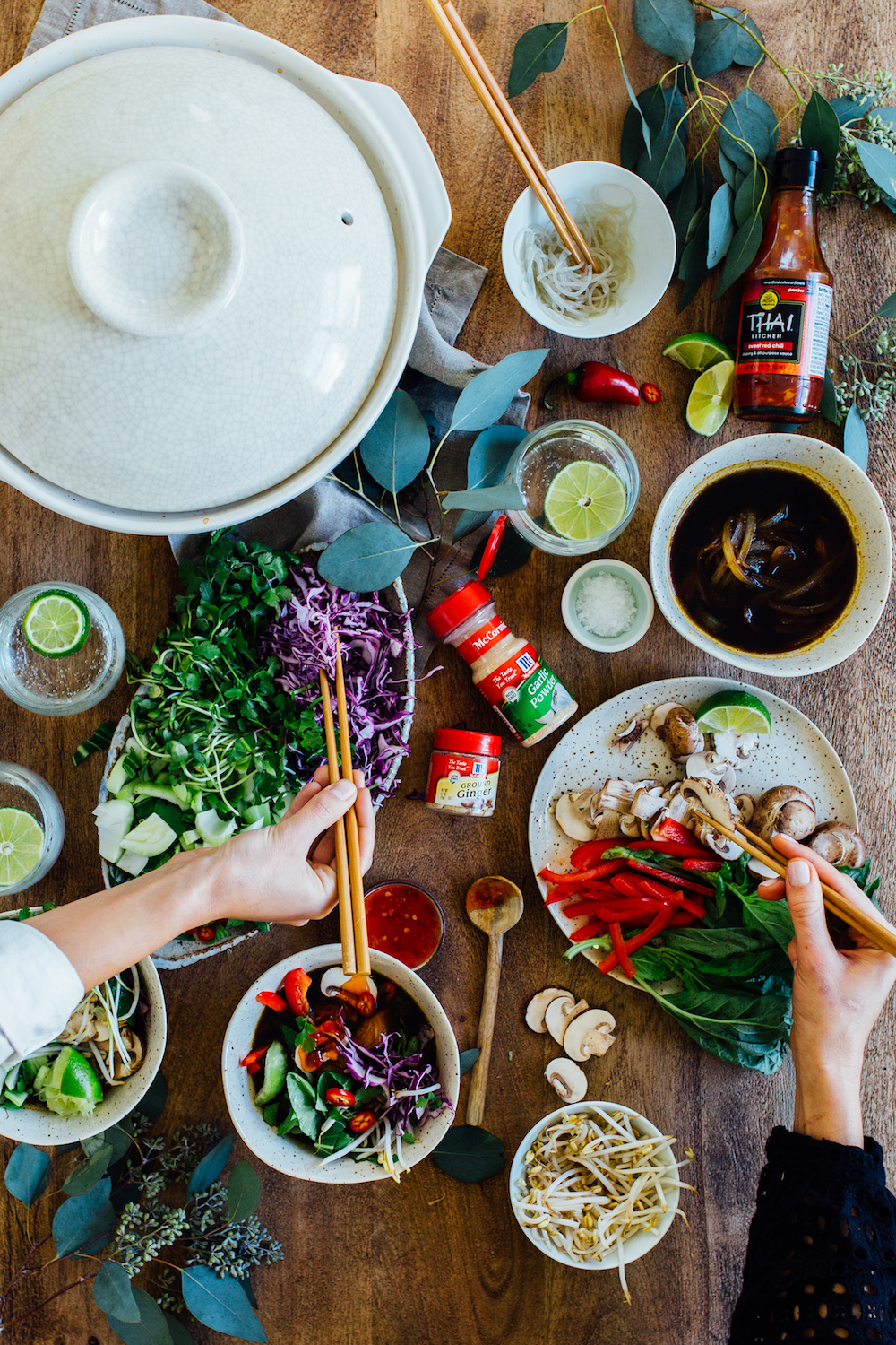 hot to throw a hot pot dinner party