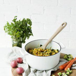 Loaded Vegetable Kitchari | This Brown Kitchen