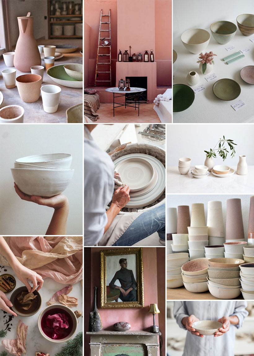 inspired by ceramics