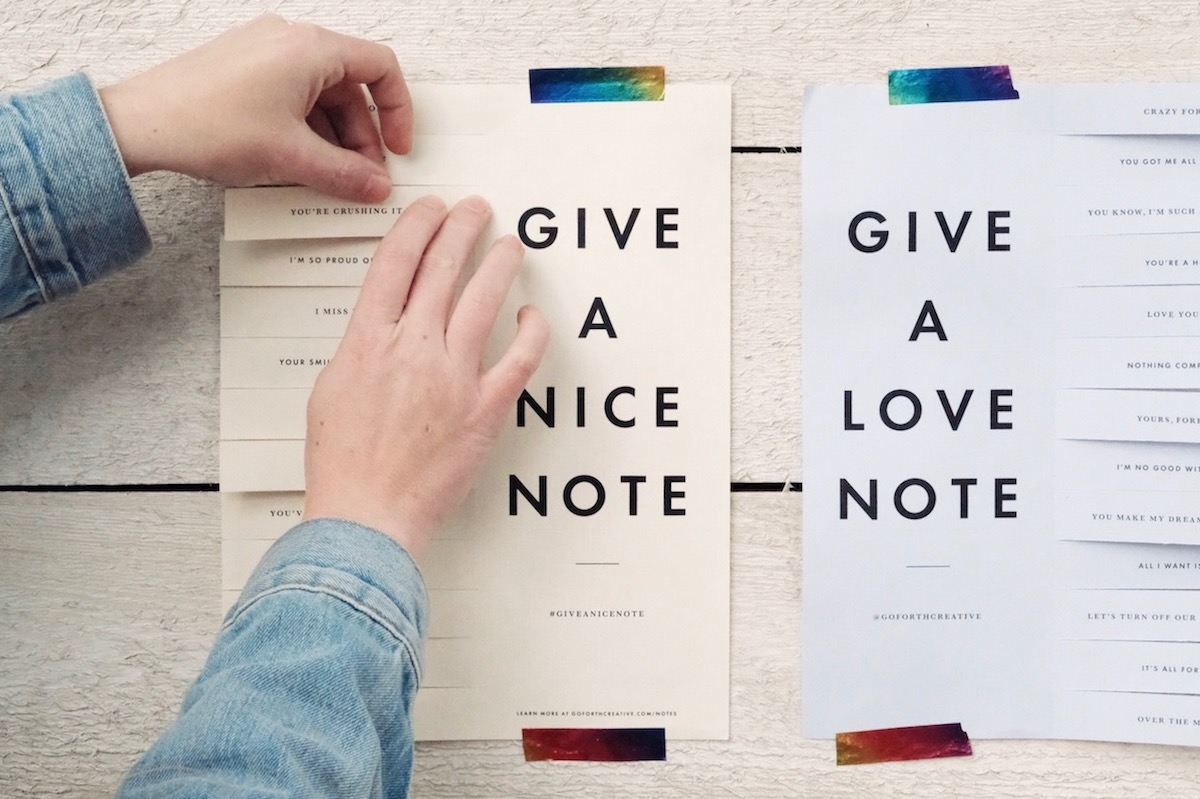 love note printable for valentine's day