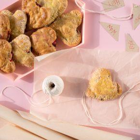 savory valentine's hand pies