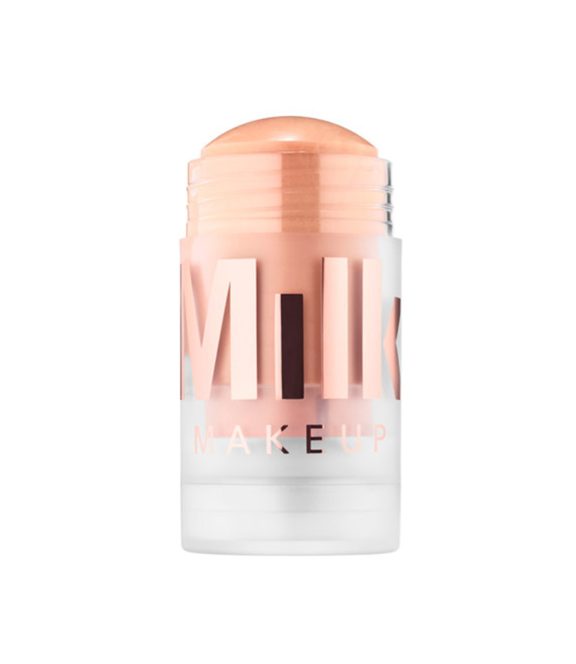 Brightening Luminous Blur Stick Primer by Milk This oil- and silicone-free primer stick is crazy-easy to apply and leaves a luminous matte finish (meaning glowy, but not greasy!).