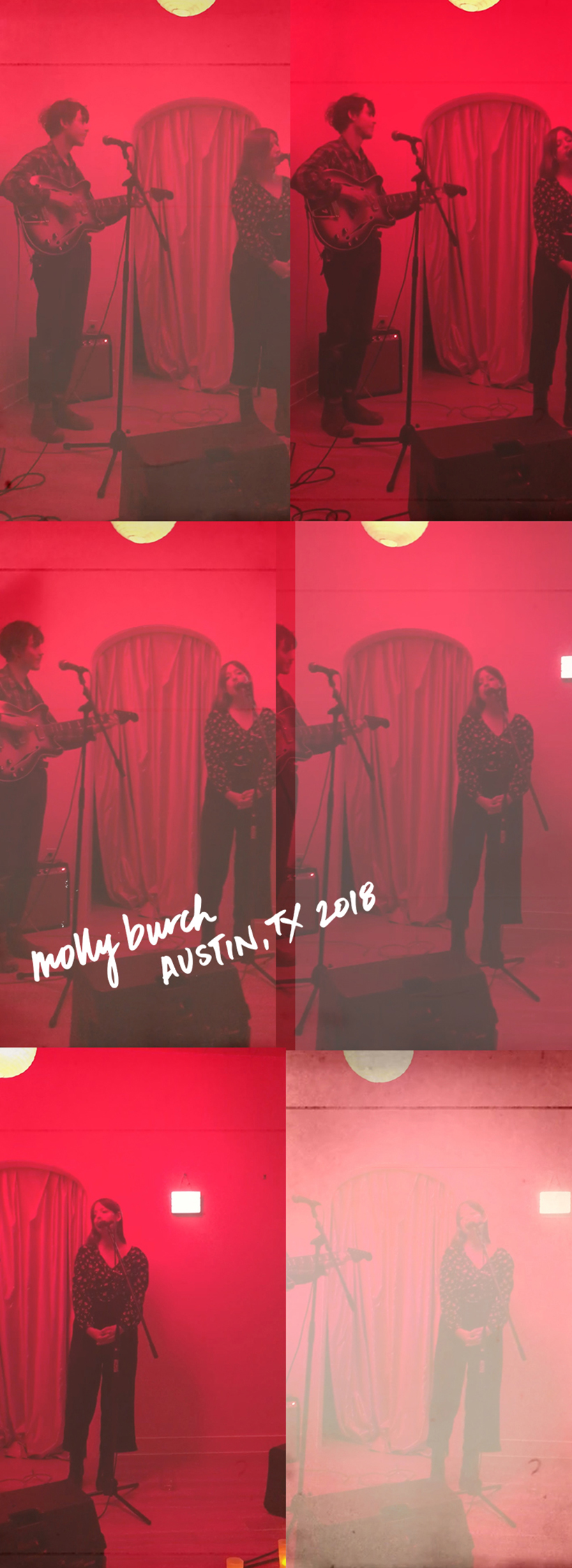 Molly Burch secret show in Austin, Texas