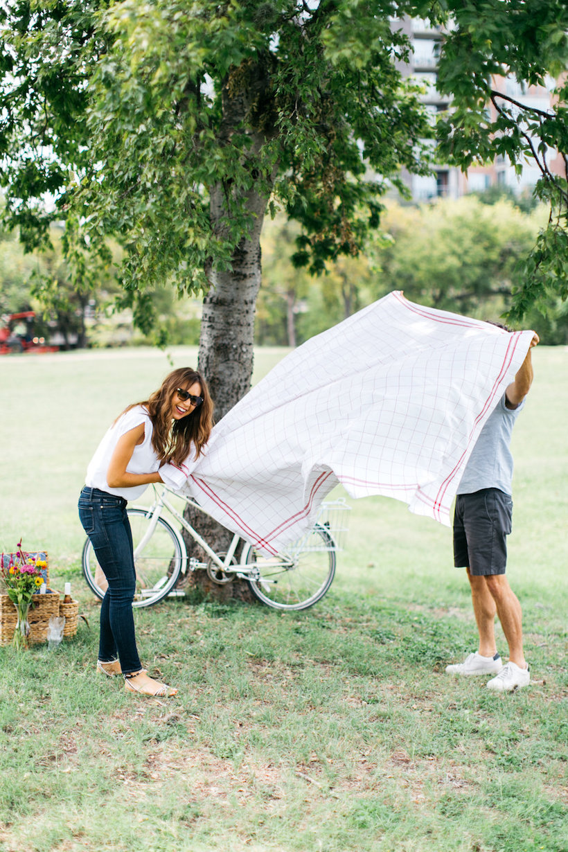 Have a picnic under a tree!