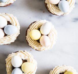 Gluten-Free Easter Basket Brownies