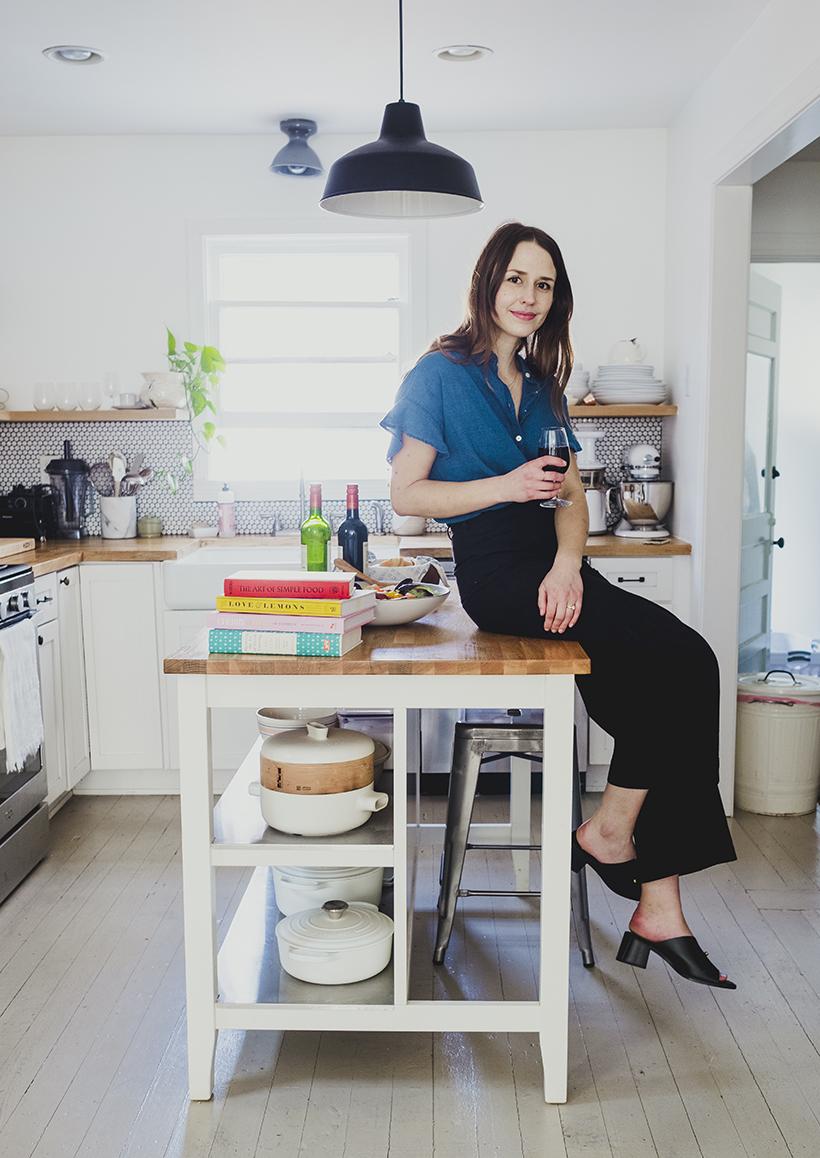 Avalon McKenzie in her home in Austin, Texas.