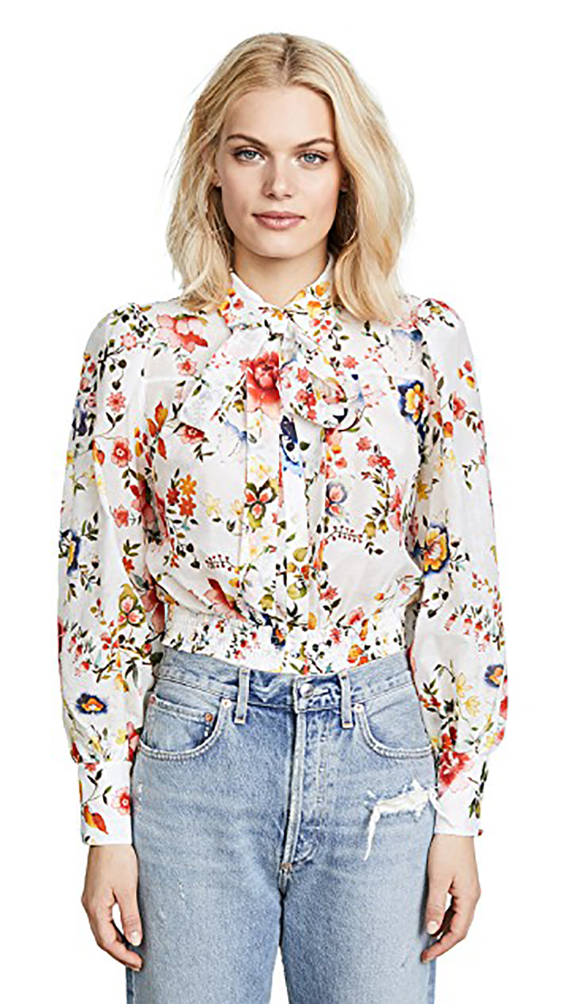 Issa Blouse by Alice + Olivia