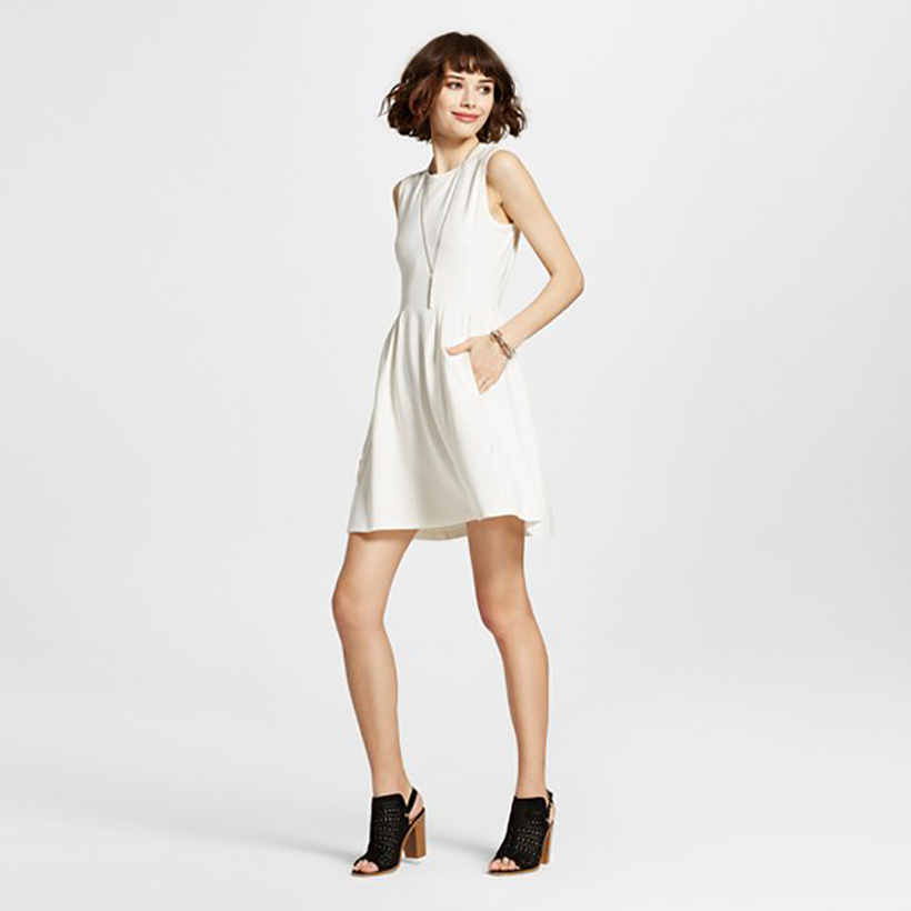 Sleeveless A-Line Dress by K by Kersh