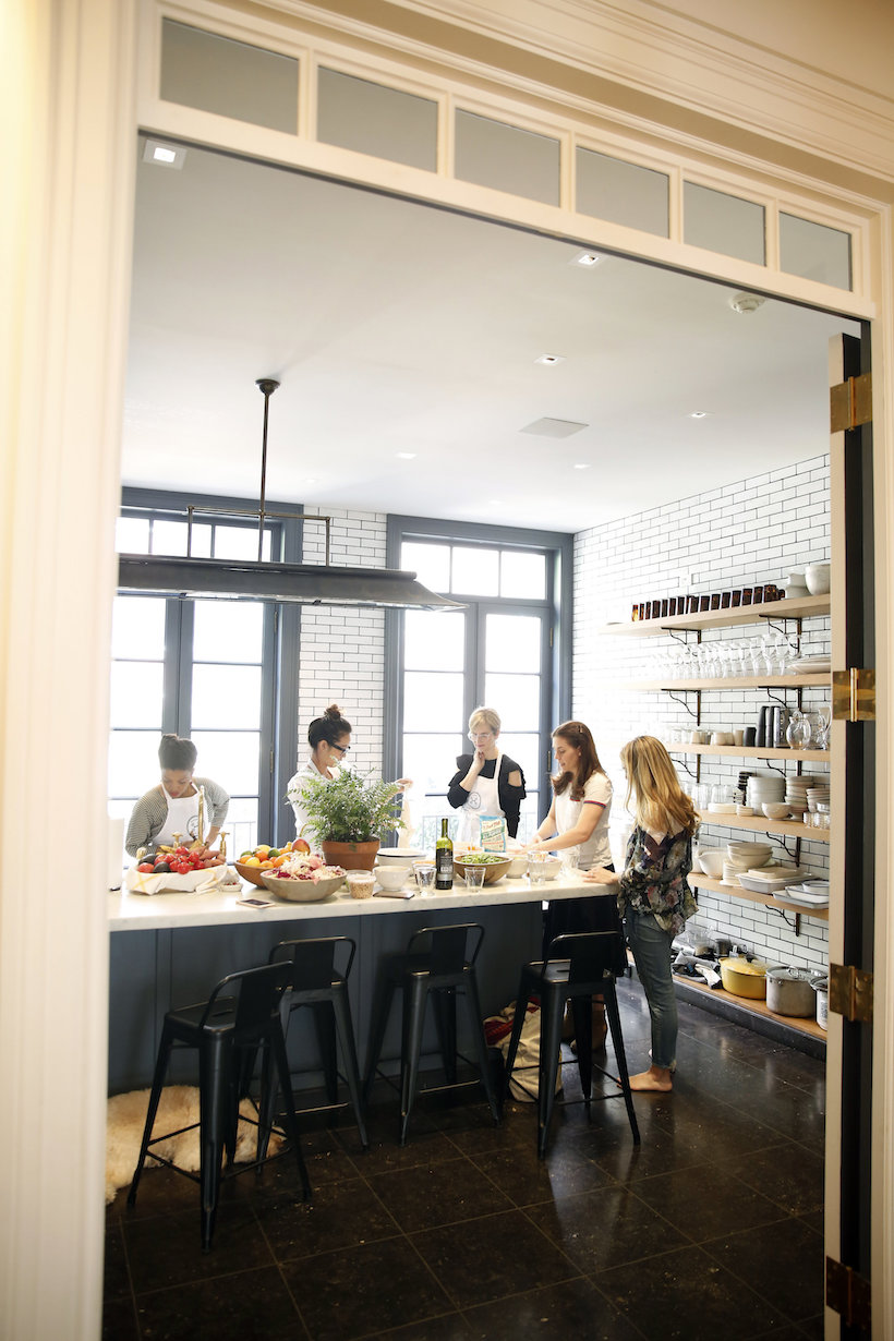 The Founder of Haven\'s Kitchen Throws a Pizza Party - Camille Styles