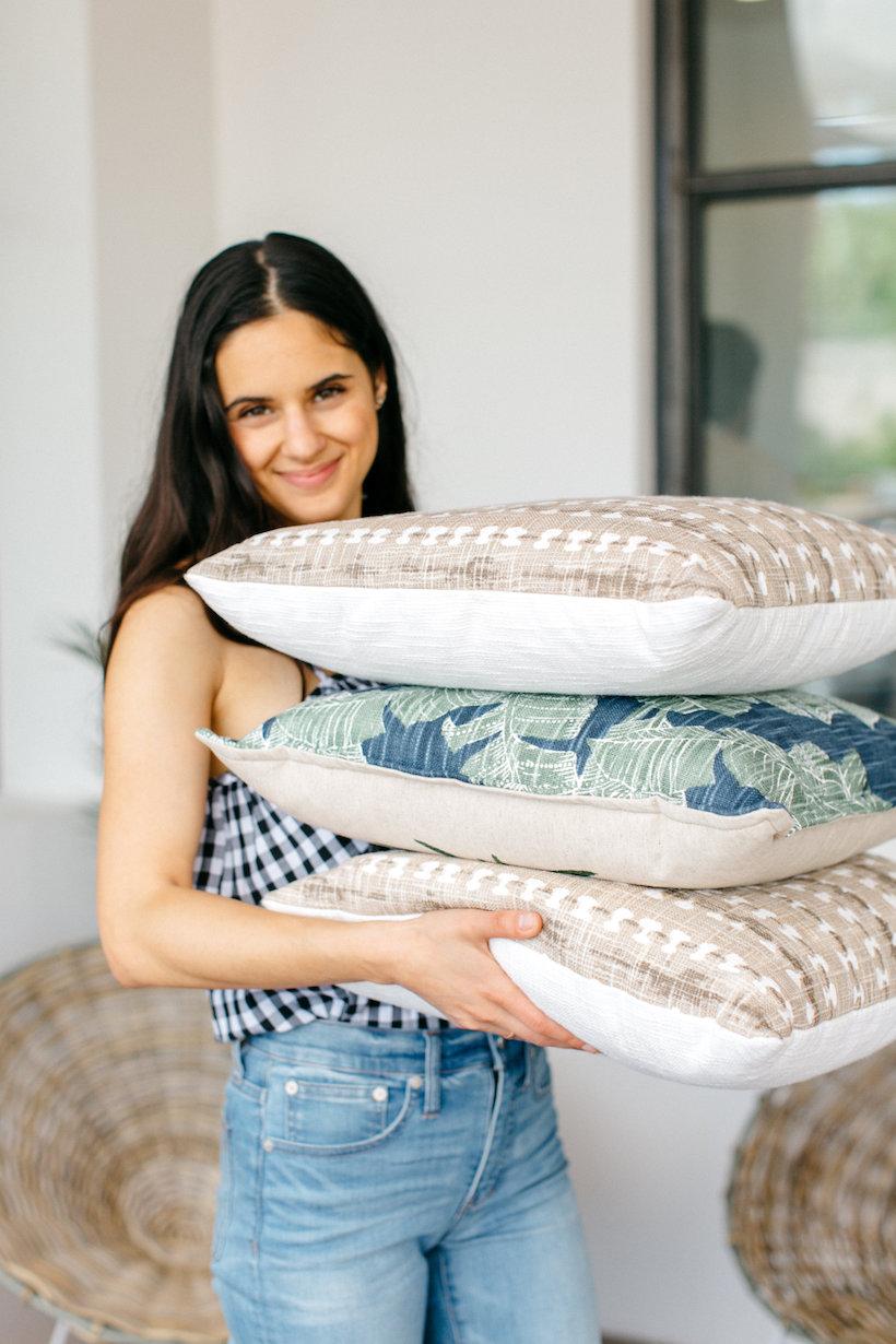 tropical pillows!