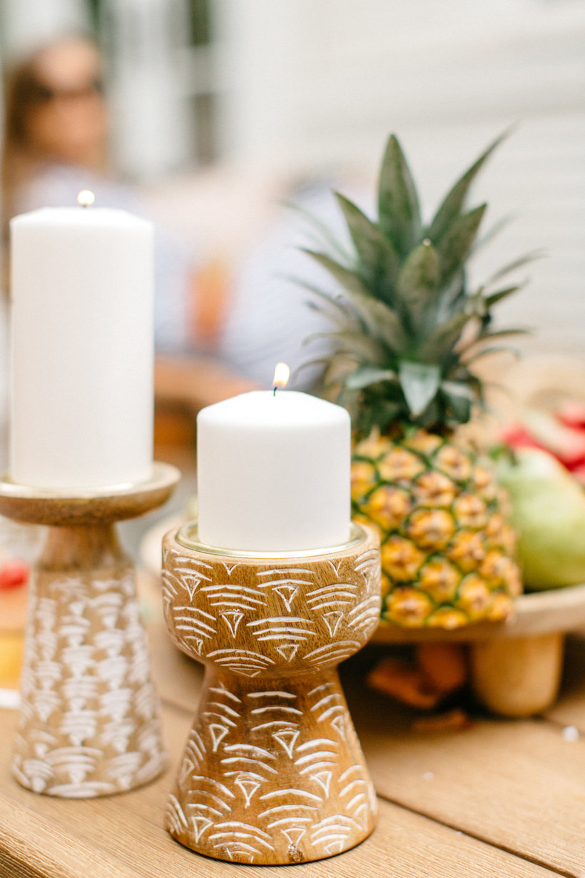 pillar candles from target