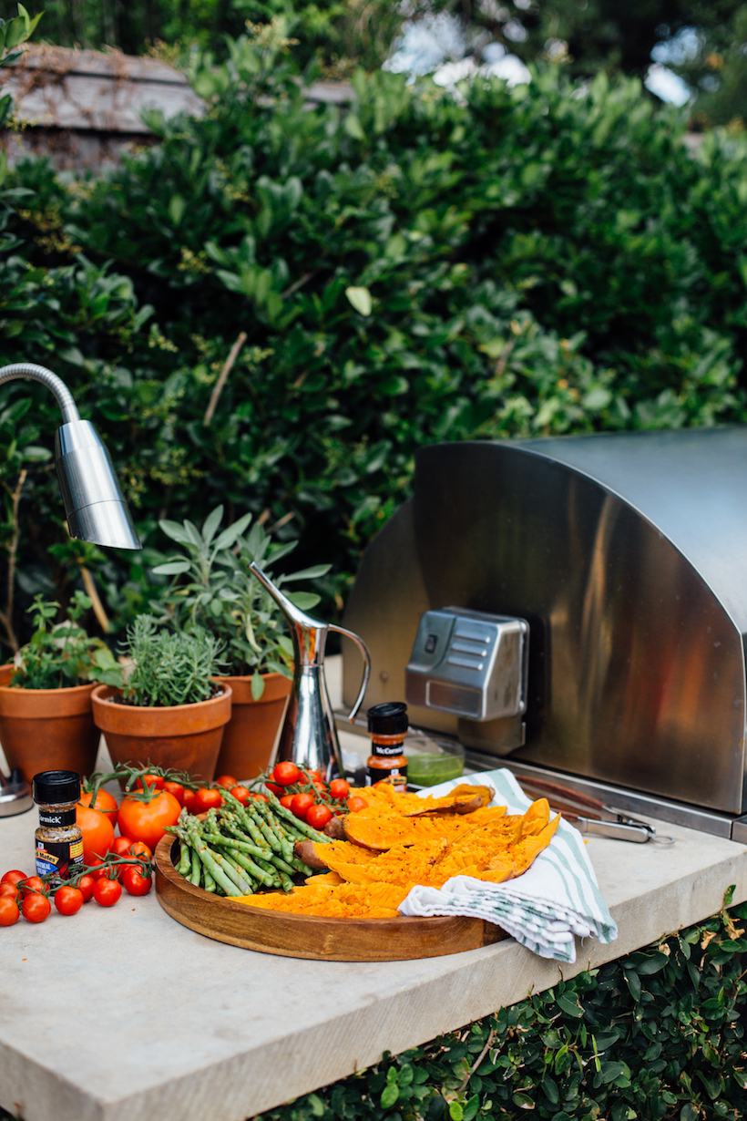 The perfect summer grill setup