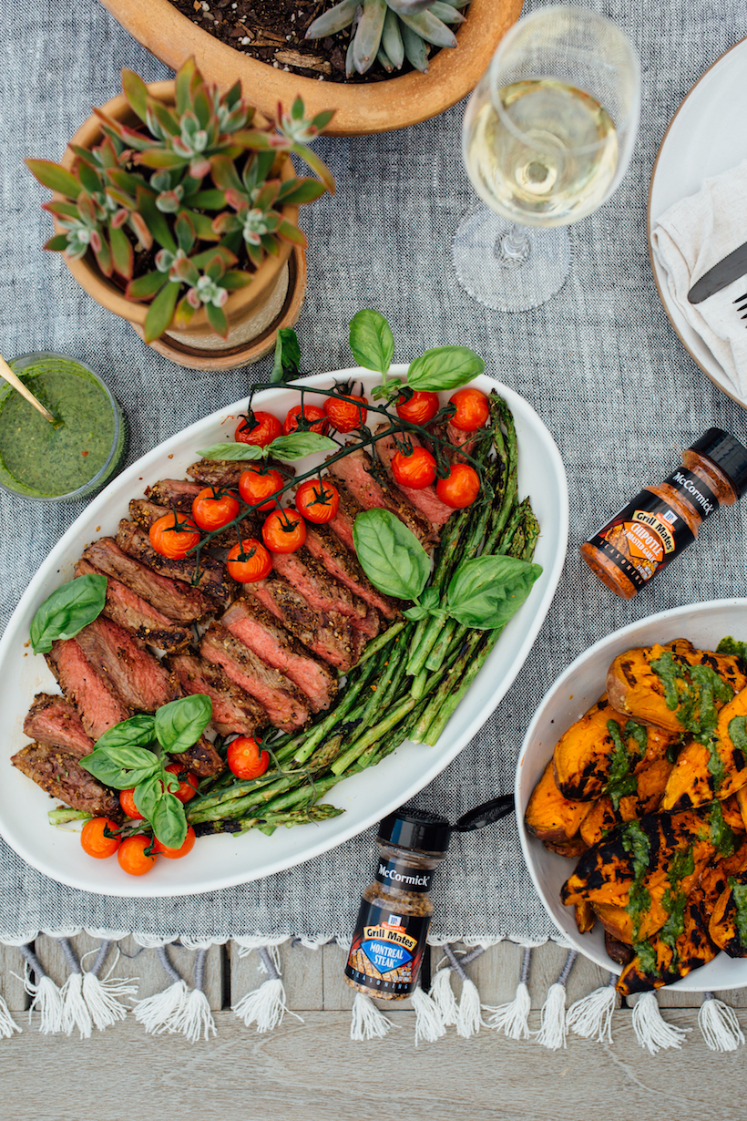 My step-by-step instructions for grilling the perfect steak