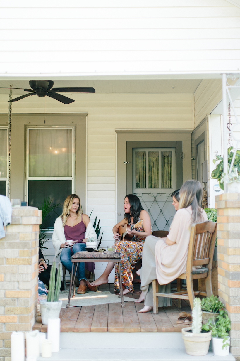 A Sunset Dinner Party with Austin's Most Intentional Event Curators