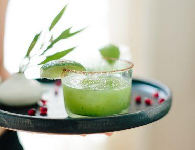 Recipe for a Spicy Mezcal Margarita