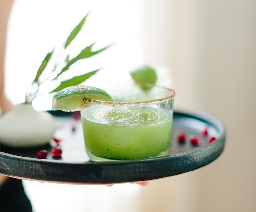 Recipe for a Spicy Mezcal Margarita