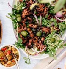 Recipe for Grilled Octopus