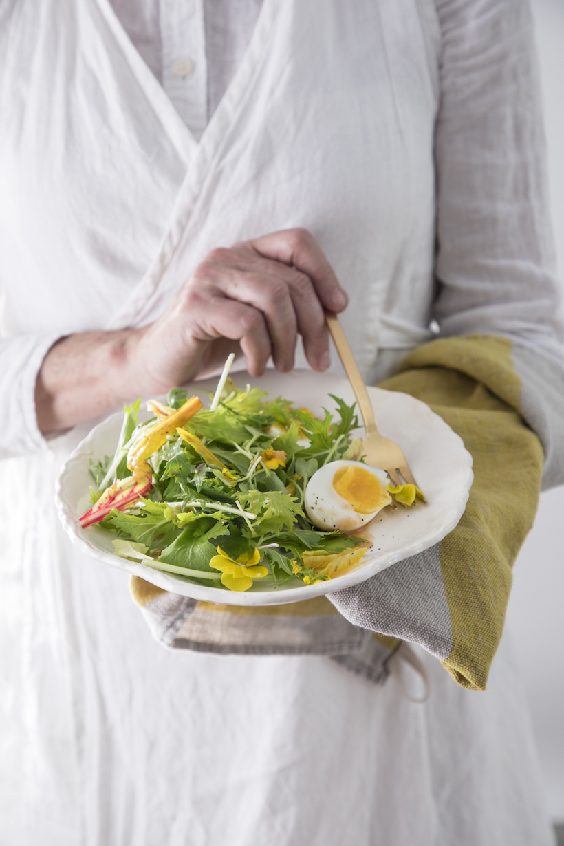 Recipe for a Yellow Salad by Libbie Summers