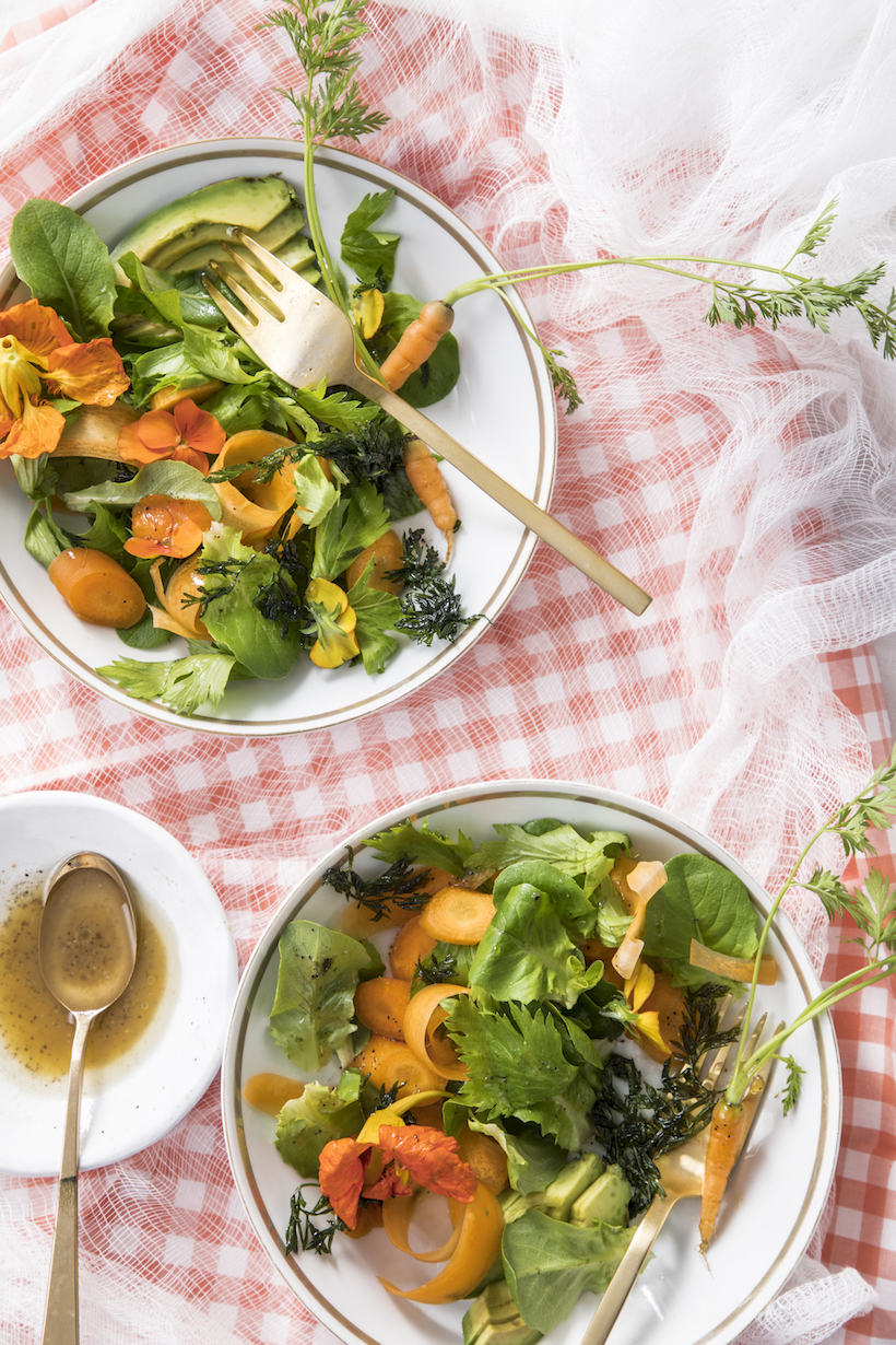 Recipe for an Orange Salad by Libbie Summers