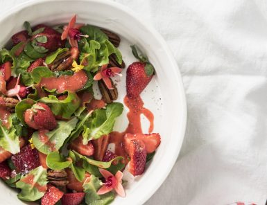 Recipe for a Red Salad by Libbie Summers